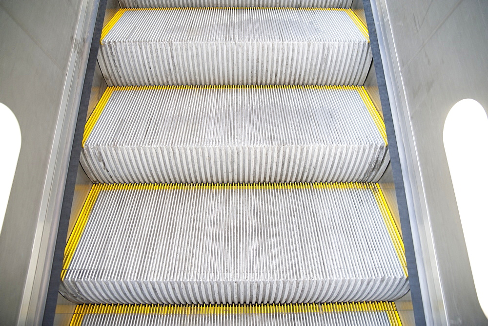 Escalator Stairs, London, England, UK