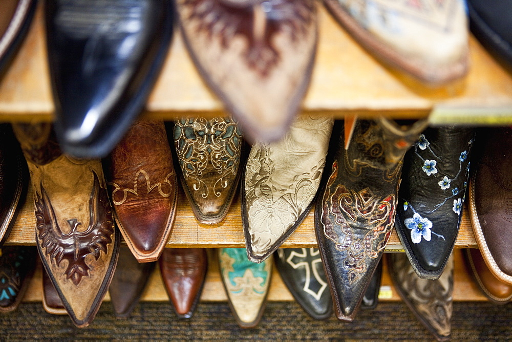 Collection of Cowboy Boots, Steamboat Springs, Colorado, United States of America - 1174-5530