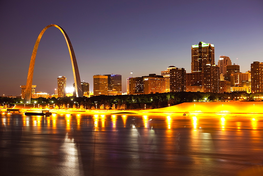 St Louis Skyline, St. Louis, Missouri, United States of America