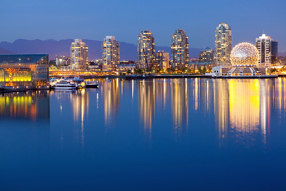 Downtown Vancouver Across the Water, Vancouver, British Columbia, Canada