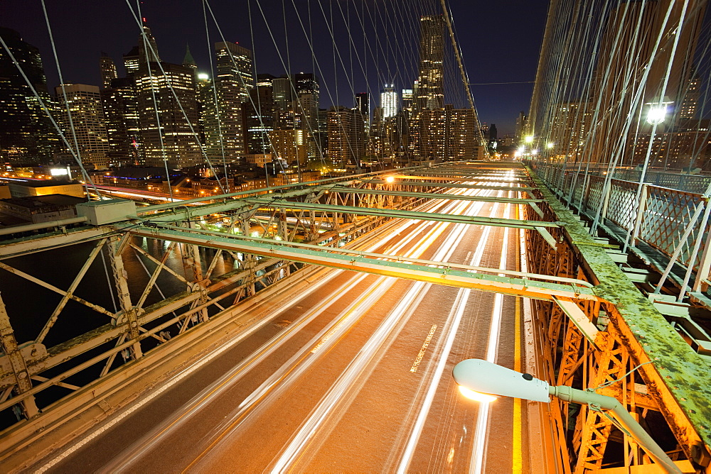 Bridge Leading to New York City, New York, New York, United States of America