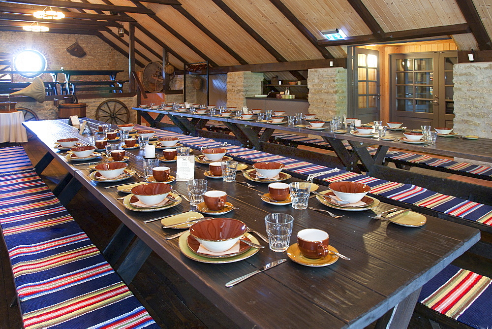 Long Dining Room Table, Estonia