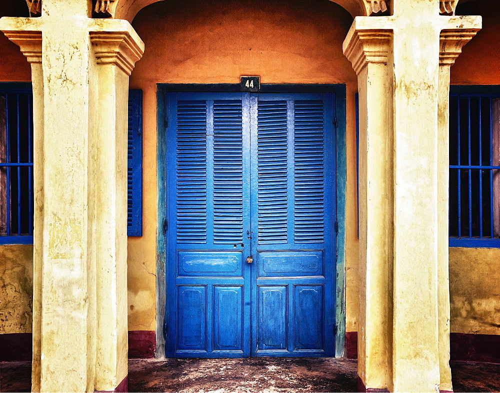 Front Doors of a Home, Hoi An, An Giang, Vietnam