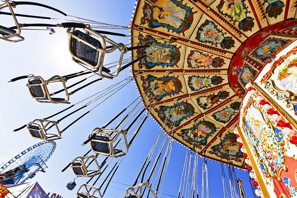 Swing Ride at the Fair, Dallas, Texas, United States of America - 1174-5566