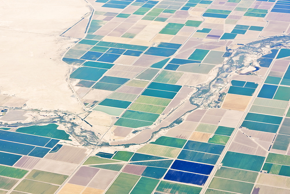 Patchwork Fields, California, United States of America