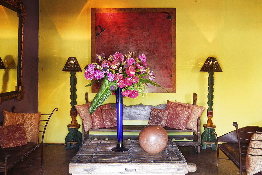 Rustic Living Room, Todos Santos, Baja California, Mexico