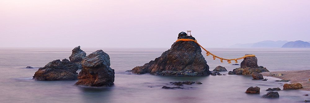 Wedded Rocks of Futami, Ise-Shima, Honshu, Japan