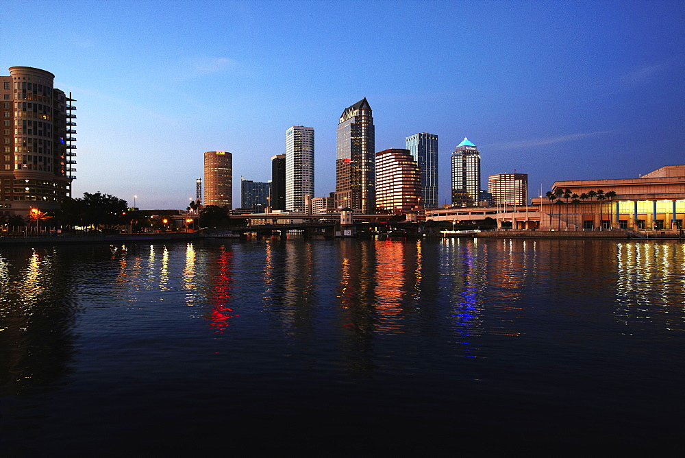 Tampa Skyline, Tampa, Florida, USA