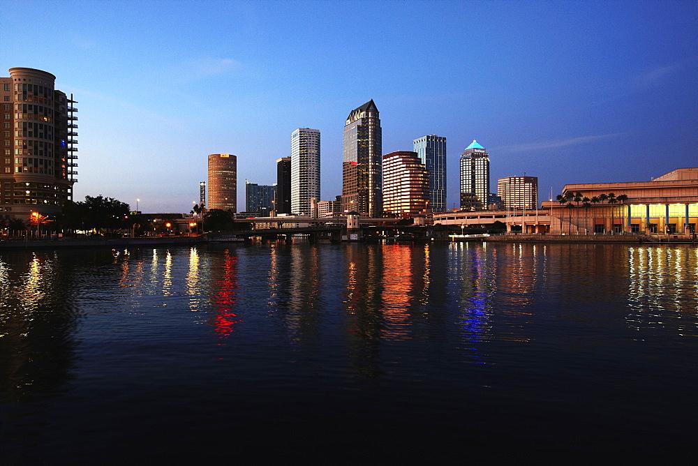 Tampa Skyline, Tampa, Florida, USA