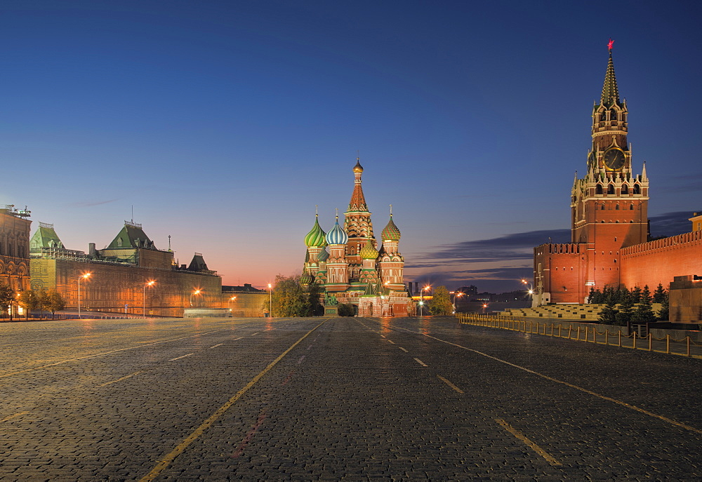 Kremlin, Saint Basil's Cathedral, and Red Square, Moscow, Russia, Moscow, Russia