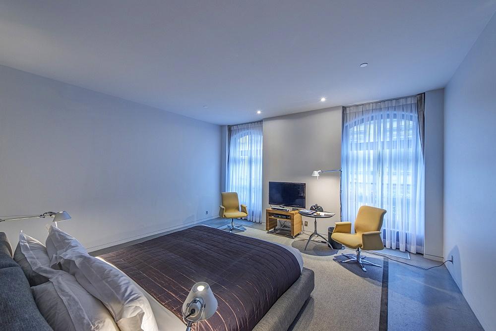 Modern hotel room