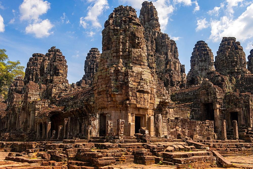 Ruins at The Angkor Wat Temple Complex, Cambodia
