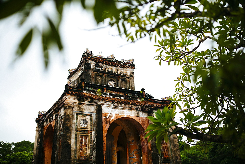 Tu Duc's tomb, also known as the Summer Palace, in Hue, Vietnam