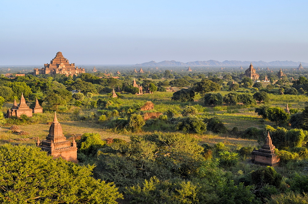 landscape with temples, Bagan, Myanmar