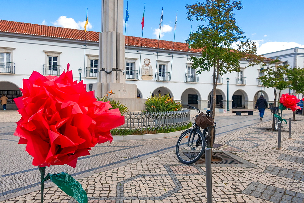War Memorial in Republic Square, Tavira