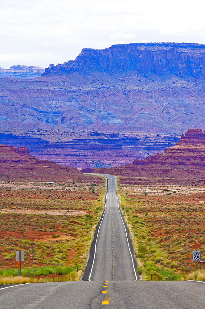 Road Through Desert, Arizona, United States of America