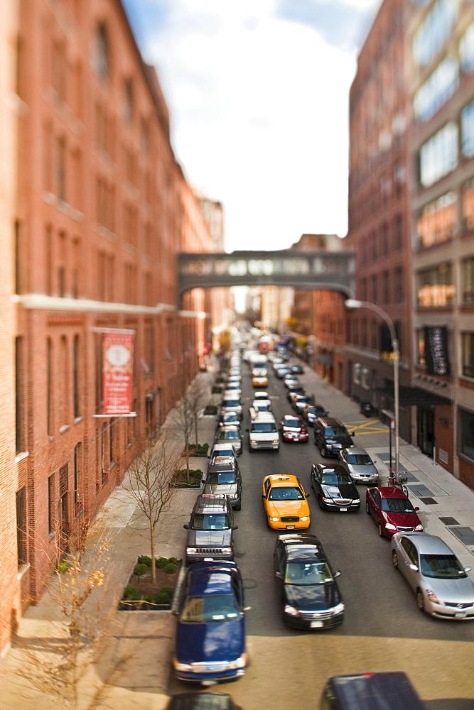 Traffic Jam, New York City, New York, United States of America