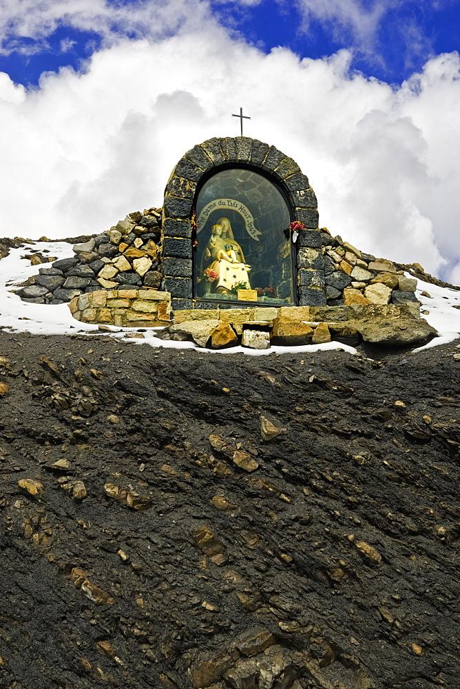 Shrine on Mountainside, Alpes Maritimes, France, Europe