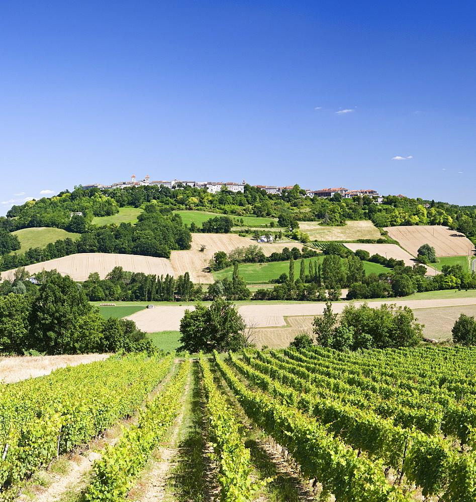 Rural Landscape, Lauzerte, Tarn et Garonne, Southern France, Europe