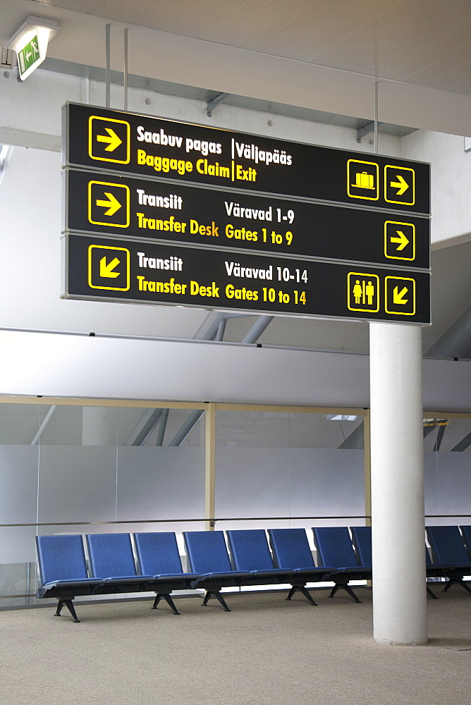 Airport Directional Signs, Estonia