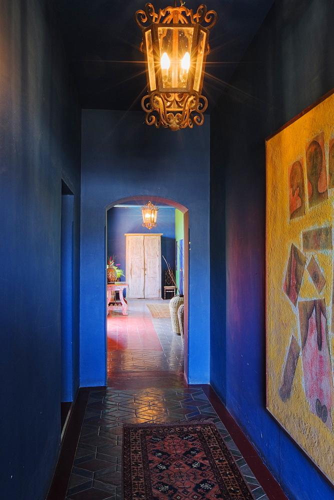 Interior Corridor, Todos Santos, Baja California, Mexico