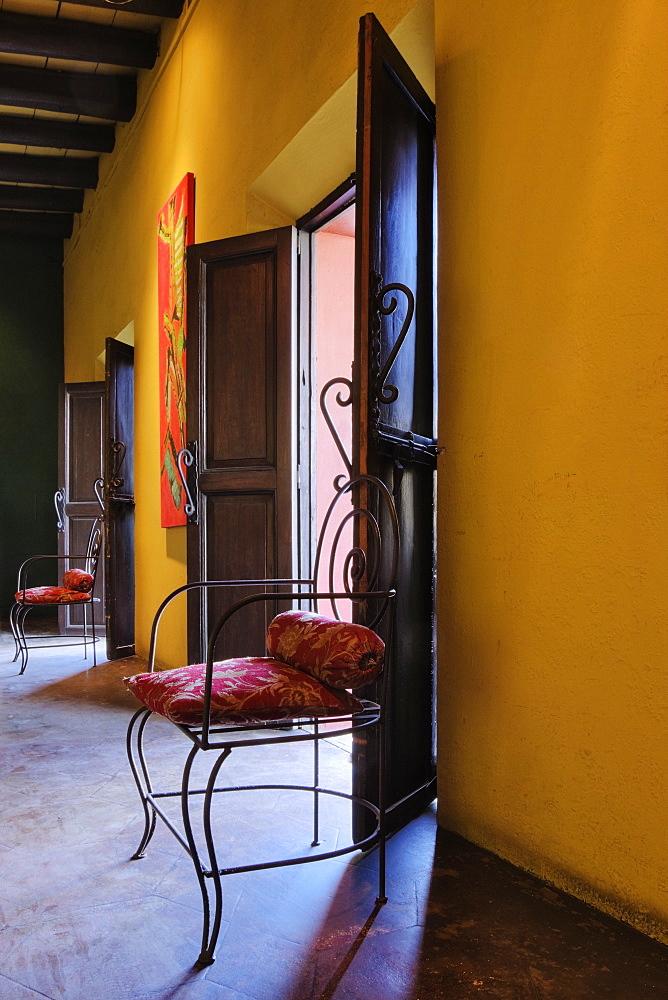 Interior Room with Chairs, Todos Santos, Baja California, Mexico
