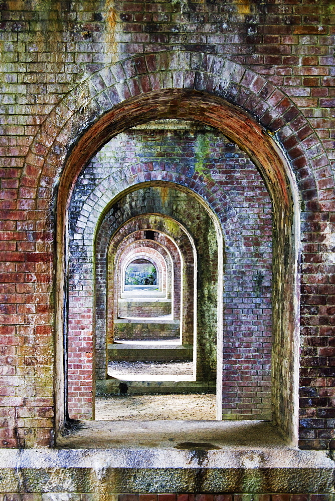 Ancient Brick Aqueduct, Kyoto, Japan