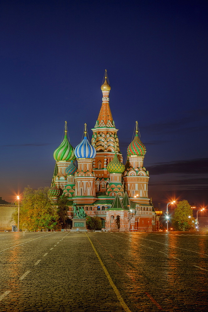 Saint Basil's Cathedral and Red Square, Moscow, Russia, Moscow, Russia