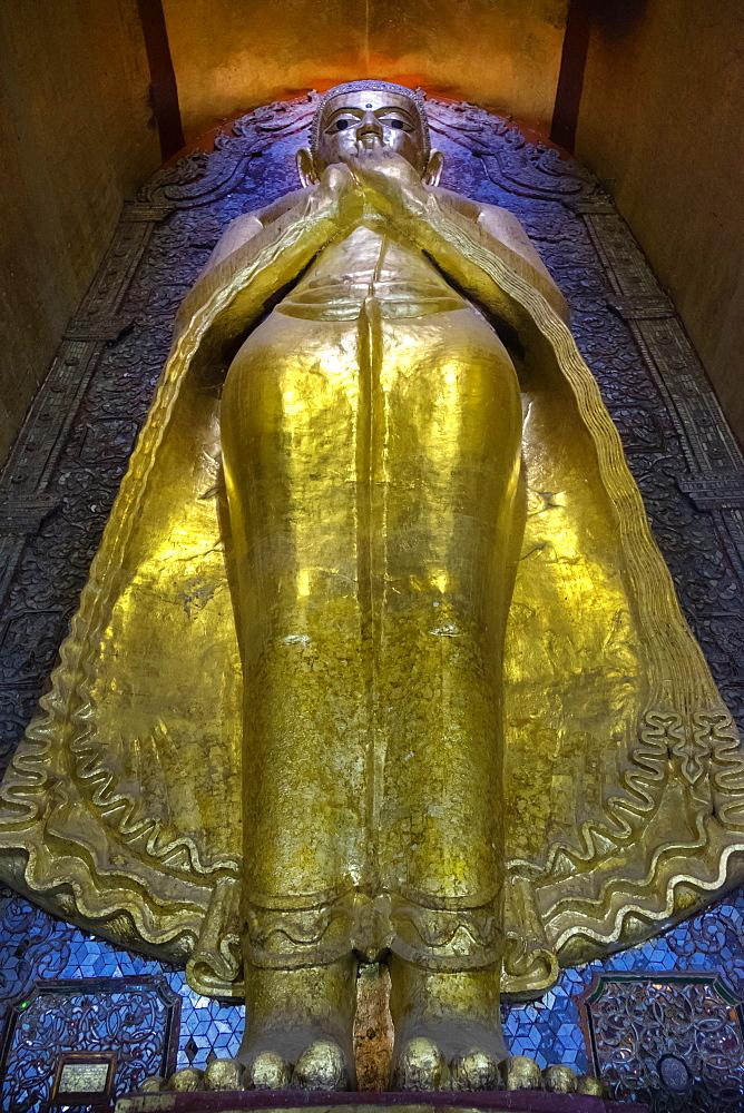 Golden statue, Yangon, Myanmar