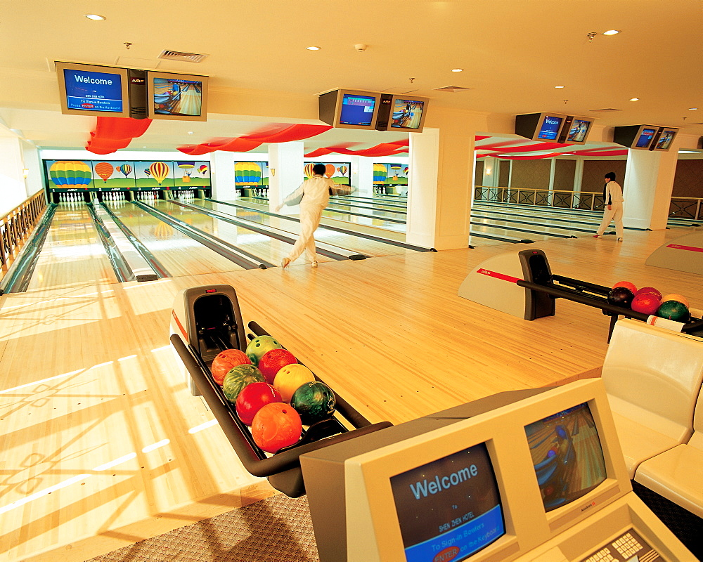 A Bowling track
