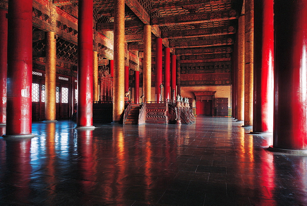 Hall of Supreme Harmony in Forbidden City, Beijing - 731-63