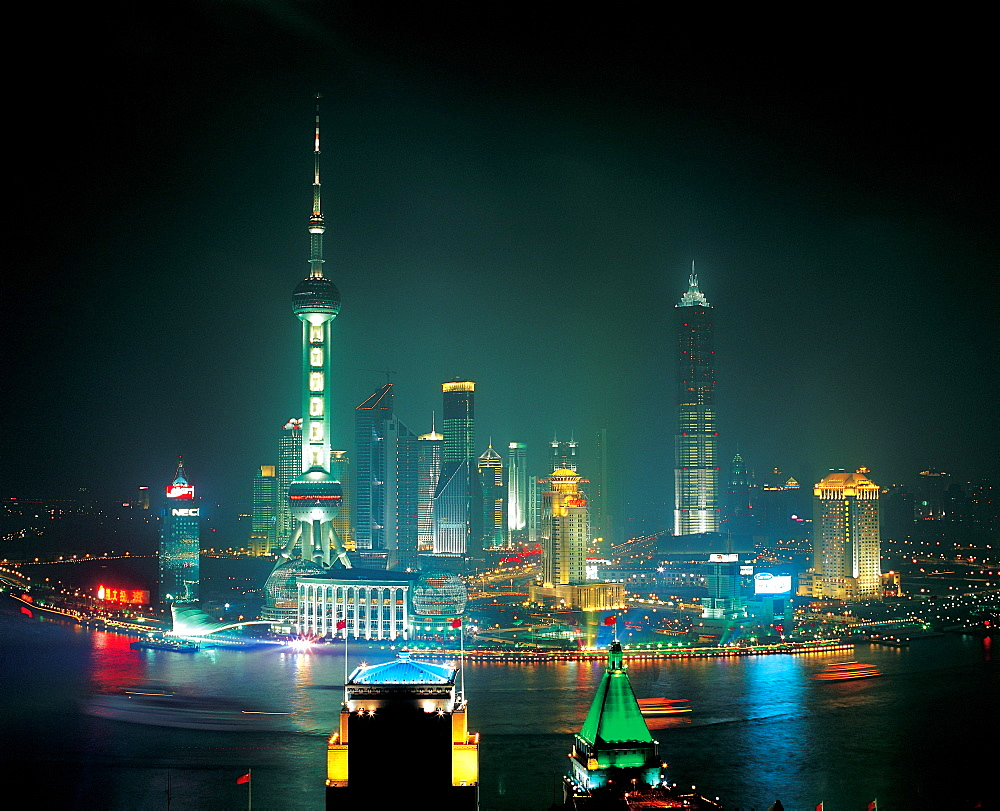Oriental Pearl TV Tower in Pudong, Shanghai - 731-651