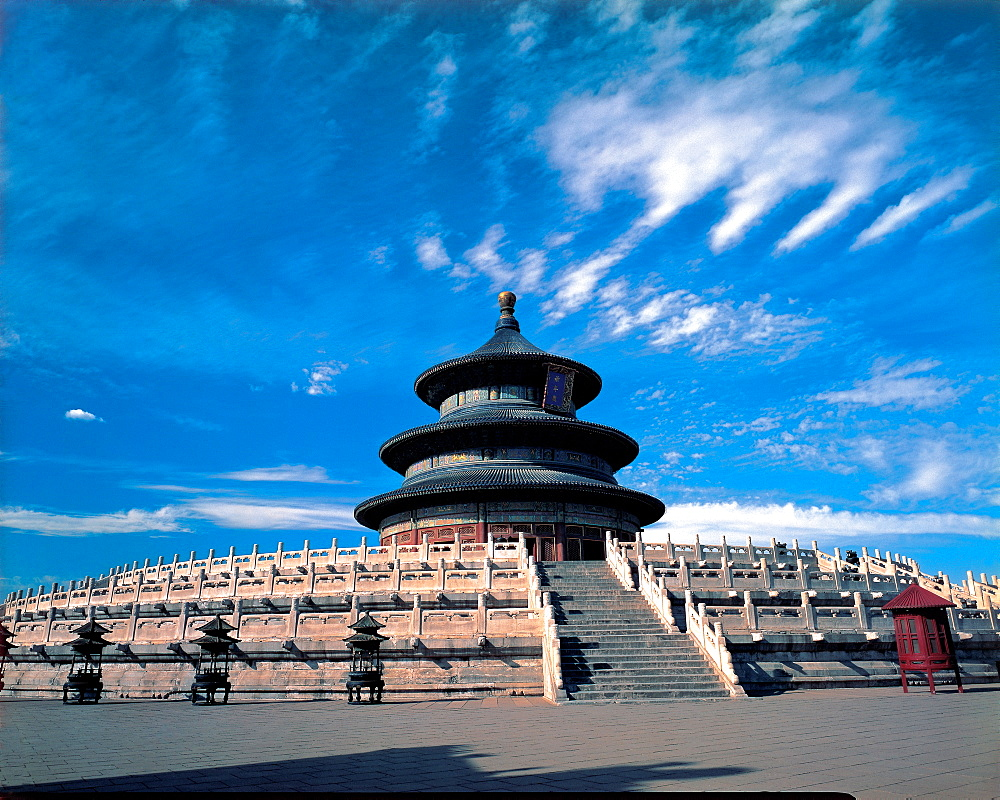 Hall of Prayer for Good Harvests in the Temple of Heaven, Beijing - 731-67