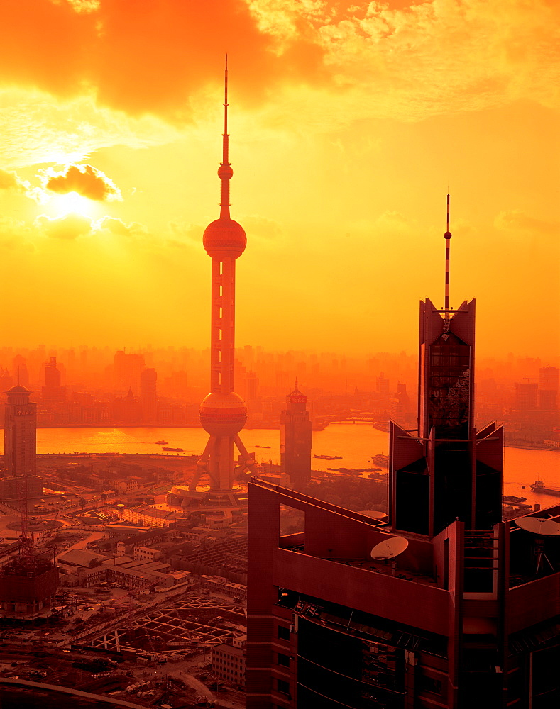 Oriental Pearl TV Tower, Pudong, Shanghai - 731-640