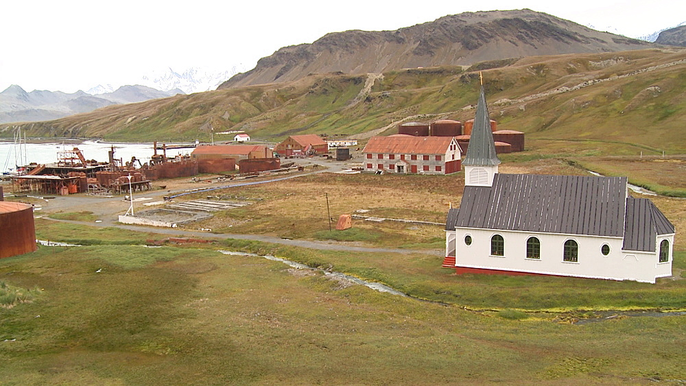 Grytviken Whaling Station. South Georgia Island