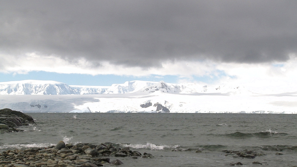 Mikkelson Harbour scenic. Mikkelson Harbour, Antarctic peninsula