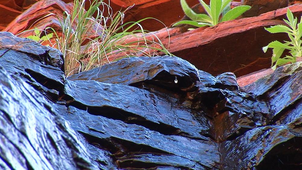 Waterfall over rocks. Australia - 945-357