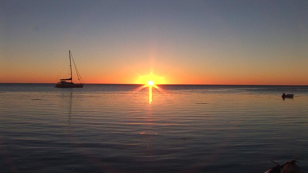 Scenic sunset. Australia - 945-476