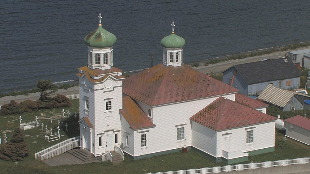Russian Orthodox Church.  Unalaska. Aleutian Islands. Alaska - 959-49