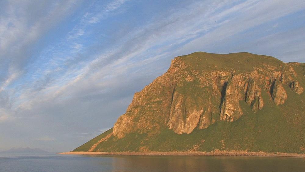 Coastal cliffs. Northern Pacific, Aleutian Islands. Alaska - 959-63