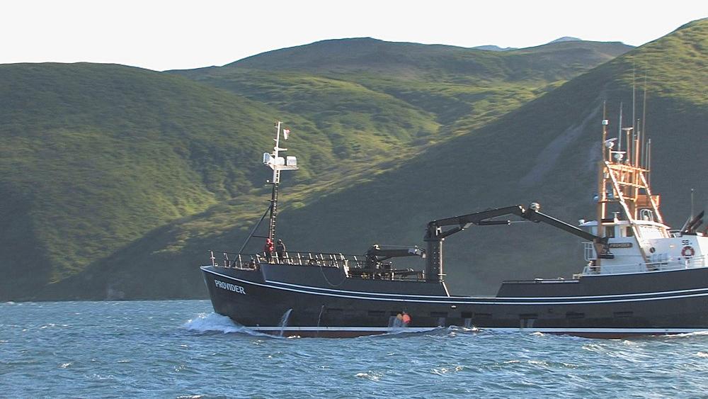 Fishing boat. Northern Pacific, Aleutian Islands. Alaska - 959-74