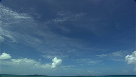 Beach sandy point, Chuuk Lagoon, South Pacific
