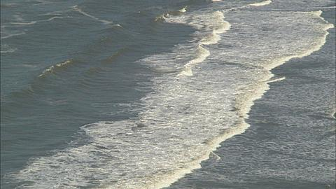 Coastline, surf and beach, South Africa