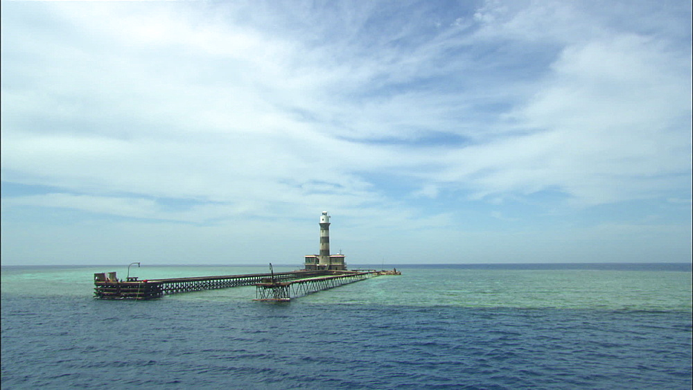 Lighthouse (Big Brother), Red Sea, Saudi Arabia, Middle East - 1010-3576