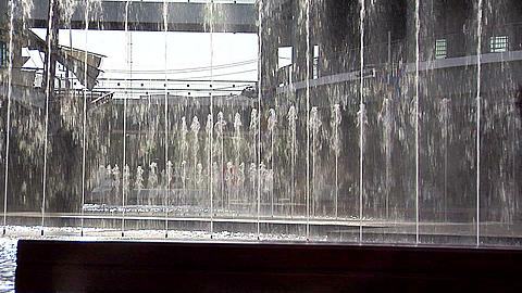 Water Fountain at a Shopping Mall in Padong