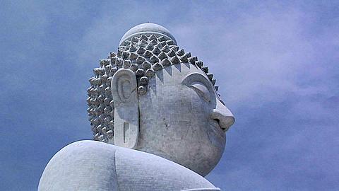 Unfinished Big Buddha Statue at Wat Phrathong