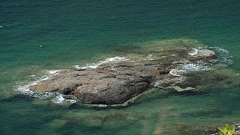 Rock Formation in the Water near Southern View Point