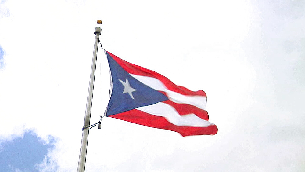 Puerto Rico Flags - 1117-1447