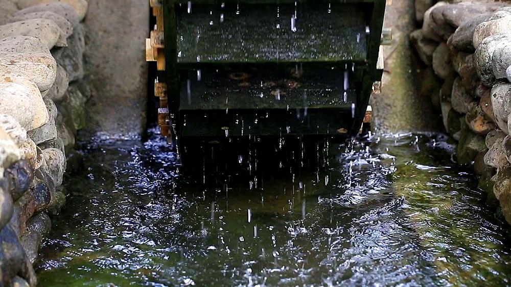 Waterwheel at Showa Memorial Park, Tokyo, Japan - 1172-1211
