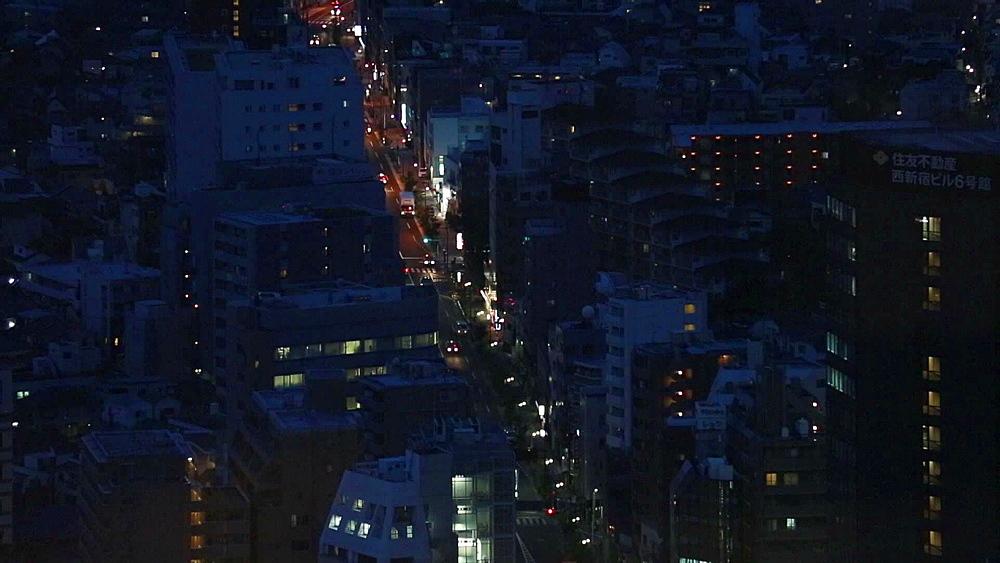 Night view from Tokyo Metropolitan Government Building in Shinjuku, Tokyo, Japan - 1172-1278